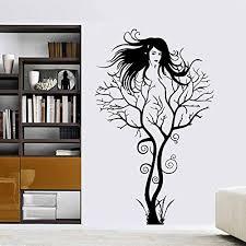 Decal Sexy Girl Tree Wall Decal Home Decor 22 X 37 Walmart Com Walmart Com