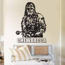 Chewbacca Stra Wars Vinyl Wall Art Decal