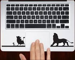The Lion King Hakuna Matata Decal Sticker For All Keyboard Trackpad Laptop Decals Laptop Decal Computer Decal Keyboard Decal