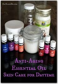 essential oil skincare for daytime