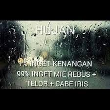 hujan lucu