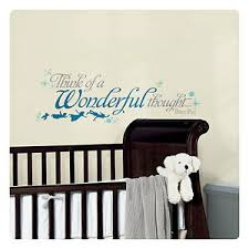Peter Pan Wall Decals Disney Wall Stickers Wall Decor Kids Room Decor Quotes Ebay