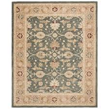 safavieh anatolia teal blue taupe 9 ft