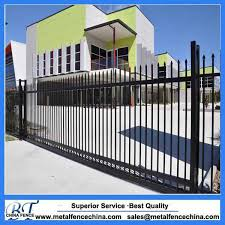 China New Design Cheap Wrought Iron Fence Panels For Sale China Ornamental Fence Wrought Iron Fence