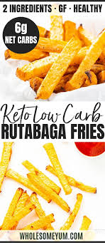 low carb keto french fries recipe
