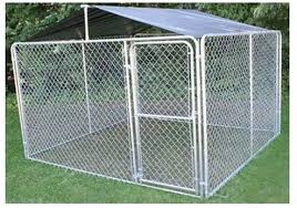 Amazon Com Stephens Pipe Steel Dkr10100 Solid Kennel Roof Kit 10 X 10 Just Shade Cover Pet Kennels Pet Supplies