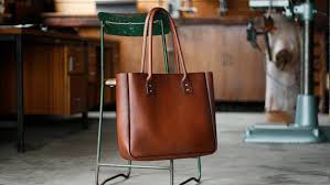 leather tote bag large brown tote