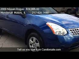 2009 nissan rogue s awd in