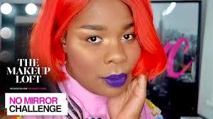flex mami does the no mirror makeup