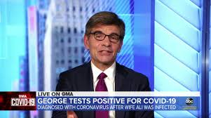 GMA host George Stephanopoulos tests positive for coronavirus ...