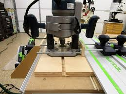 Options For Using A Non Festool Router On Festool Rails