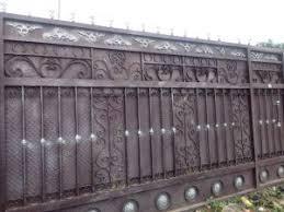Gate Hand Rail And Metal Fencing Security Or Aesthetics Metal Works Metal Fabrication Industrial Construction Welding Steel Fabrication Fabrication Nigeria Metalpro
