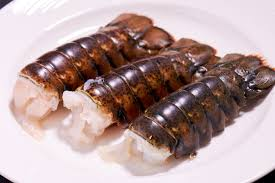 Sous Vide Lobster Tail with Tomato and ...