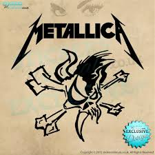 Metallica Logo Wall Art Vinyl Wall Decal