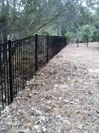 220 Ft Of 5 Ft 3 Rail Black Aluminum Fence B A Fencing Company