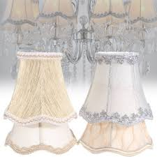 vintage small lace lamp shades textured