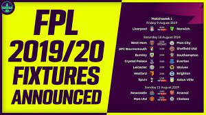 FPL FIXTURES ANNOUNCED! | ALL IN FOR SALAH CAPTAIN | Fantasy Premier League  2019/20 - YouTube