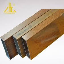 Aluminum Rectangular Tubing For Wooden Horizontal Aluminum Fence Panels System Factory Made In China Pailian Aluminium