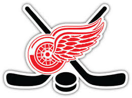 Detroit Red Wings Sticks Nhl Sport Car Bumper Sticker Decal Sizes Ebay
