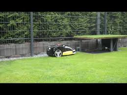 garages for robot lawn mowers