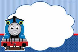 Kit Imprimible Tren Thomas Gratis En 2020 Cumpleanos De Thomas
