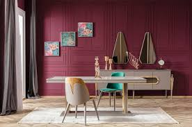 dining room mirrored wall panels mirror