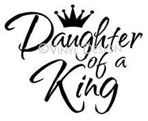 Daughter Of A King 2 Wall Sticker Vinyl Decal The Wall Works