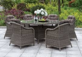 canistota 47 gray round outdoor patio