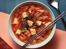 Korean Kimchi Stew with Pork Belly and ...