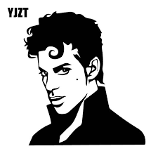 Yjzt 14cm 14 3cm Cool The Artist American Singer Vinly Decal Prince Rogers Nelson Car Sticker Nostalgic Black Silver C27 0543 Car Stickers Aliexpress