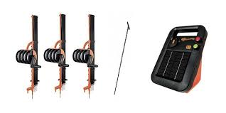 Buy 3 Gallagher Smart Fence Kits S20 Solar Fence Charger Ground Rod Gallagher Fence Electric Fencing Grazing Supplies Livestock Scales Pasture Management Solutions