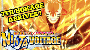 HOKAGE Naruto Arrives! - Naruto x Boruto Ninja Voltage - YouTube