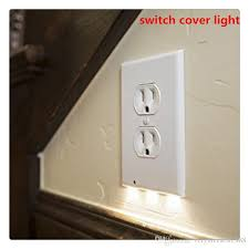 led night lights switch cover light