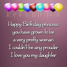 birthday wishes for loving daughter