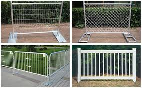 Portable Fence Temporary Crowd Control Barrier
