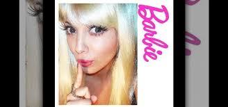 barbie doll makeup look