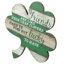 10 Wooden Friends Are Four Leaf Clovers Sign 30045246 Craftoutlet Com