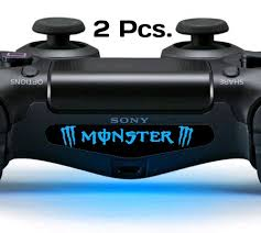 Ps4 Lightbar Decal Controller Lightbar Decal Of Monster Amazon In Video Games