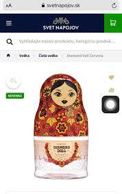 Rượu Búp Bê Nga Diamond Doll Russia Vodka - Home