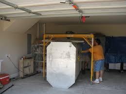 storm shelter garage installation