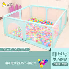 Play Fence Baby Fence Indoor Playground Mats Shopee Philippines