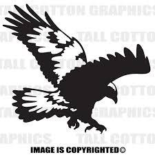 Hawk Custom Personalized Single Color Vinyl Decal