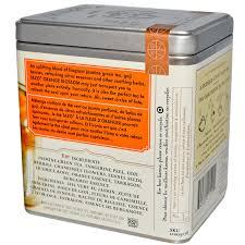 tazo teas orange blossom green tea