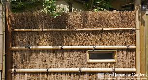 Bamboo Fences Part 1 Real Japanese Gardens