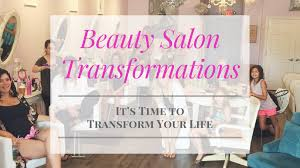 beauty salon transformations hair