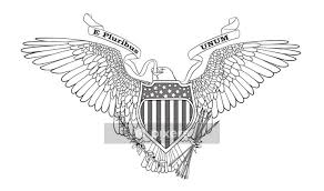 Great Seal Of The Usa Wall Decal Pixers We Live To Change