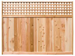 Square Lattice Top Fence Panels Woodway Products