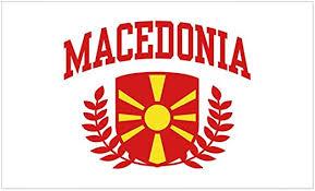 Amazon Com Cafepress Macedonia Rectangle Bumper Sticker Car Decal Home Kitchen
