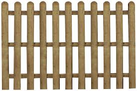 Waltons Wooden Fence Panels 4x6 Picket Round Top Fencing Pressure Treated 4 X 6 4ft X 6ft Amazon Co Uk Diy Tools