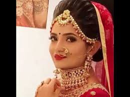 gujarati bridal makeup and hairstyle